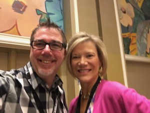 Roger Courville and Shelley Row at National Speakers Association's Influence 2017