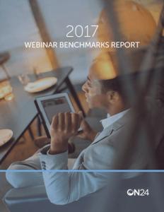 ON24 Webinar Benchmarks Report, 2017