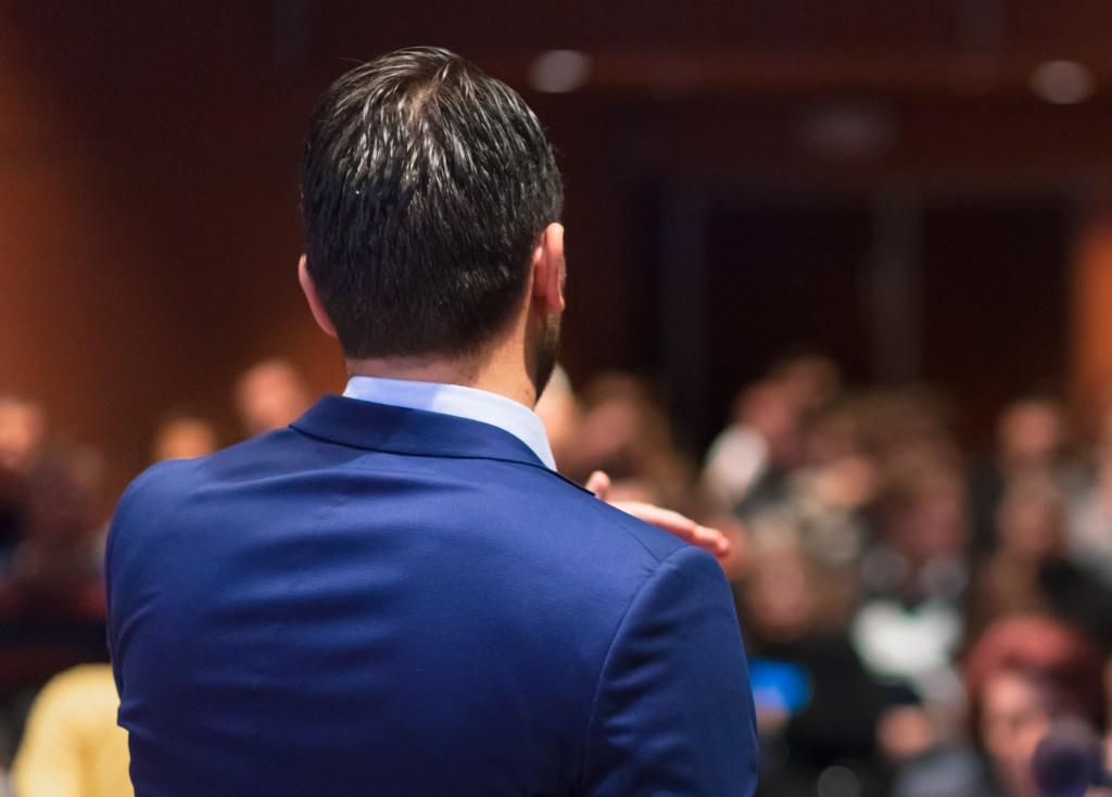public speaker, corporate evangelist, webinar, webcast