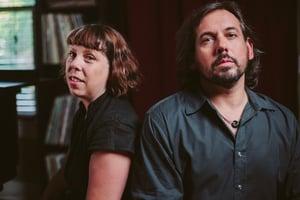 Jenny Conlee-Drizos and Steve Drizos.
