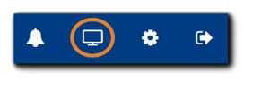 "Screenshot: top menu on Portal Dashboard with ""Portal Configuration"" option highlighted."