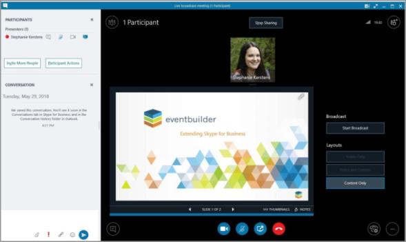 presenter-interface