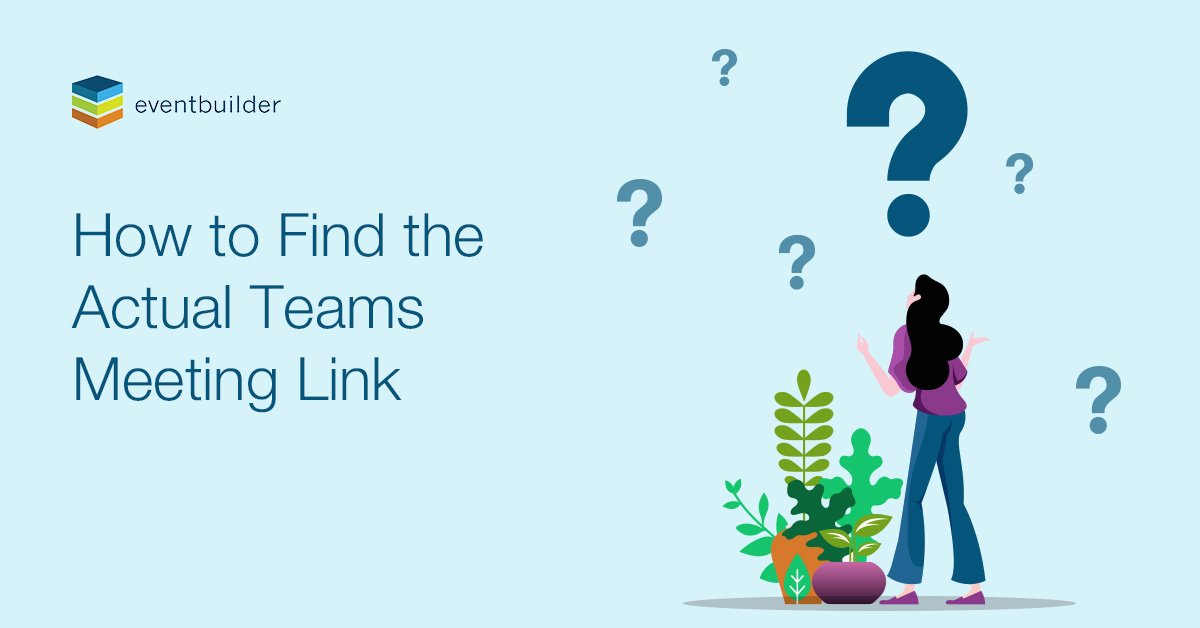 How to Find the Actual Teams Meeting Link