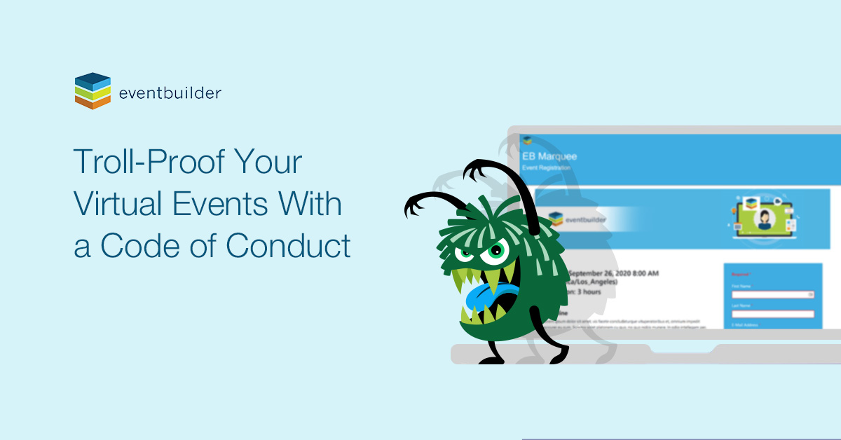 Troll-Proof Your Virtual Events with a Code of Conduct